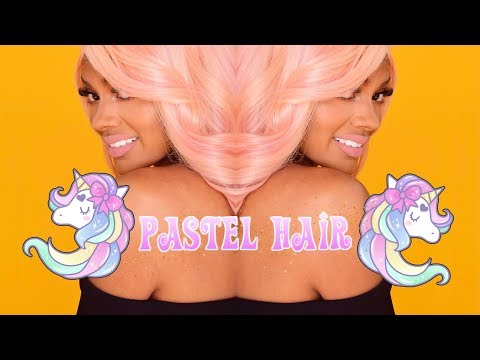 How To Get Pastel Hair With ANY COLOR DYE | Jazzie Jae T