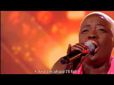 Jennifer Phillips- Up to the mountain- The X Factor 6 Chair Challenge -中文