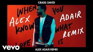 Craig David - When You Know What Love Is (Alex Adair Remix) [Audio] Video