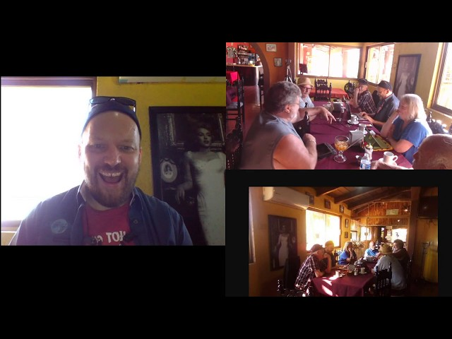 Live Meeting #4, Today's Meeting at  Tequilas at 9:15 AM. Join us ether in person or online.