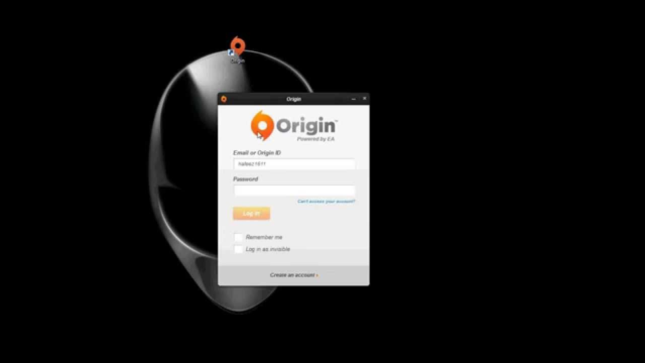 origin sign in currently unavailable