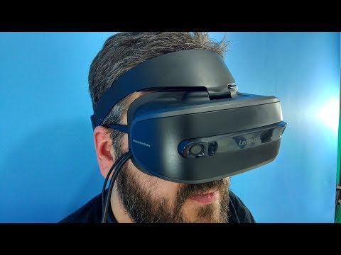 Lenovo Explorer. Шлем виртуальной реальности (VR) / Арстайл /