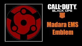 Call of Duty Black Ops 4 Madara Mangekyou Sharingan Emblem