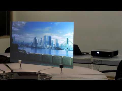 Rear Projection Acrylic Panel(SurP).MOV