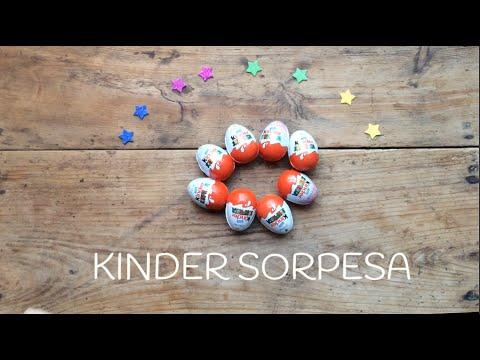 Hasta las estrellas y más allá con los huevos kinder sorpresa
