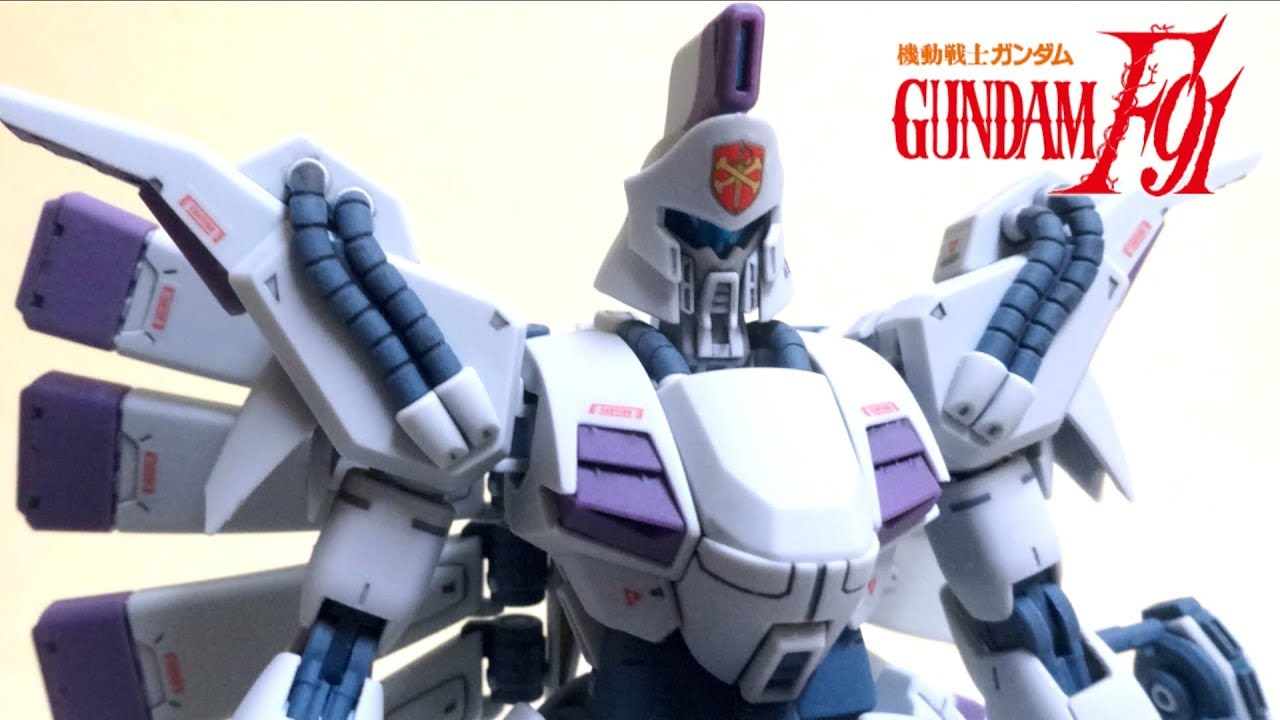 【MOBILE SUIT GUNDAM F91】RE/100 Vigina,Ghina wotafa\u0027s GUNPLA review. wotafa/ ヲタファ