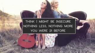 Megan & Liz: New At This Lyric Video