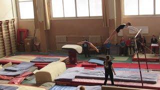 Карина спортивная гимнастика опорный прыжок 3-й разряд / Karina Artistic Gymnastics Vault HD 2018