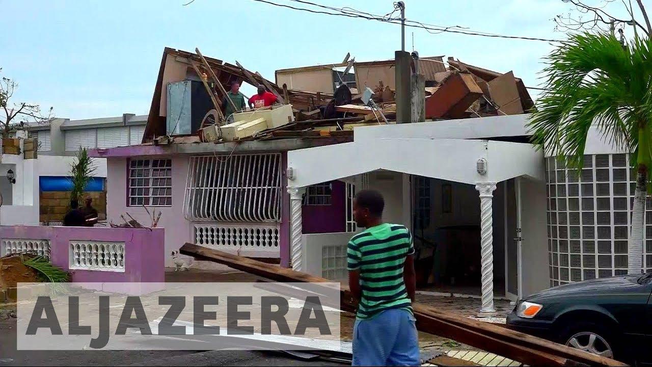 Hurricane Maria devastates Puerto Rico's capital