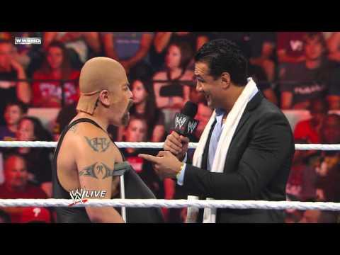 Raw: Ricardo Rodriguez masquerades as Big