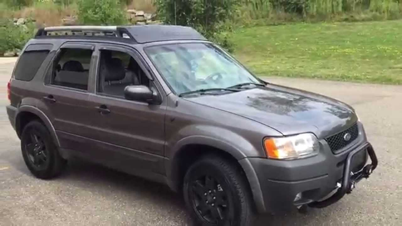 2002 ford escape xlt 5000 mile update youtube