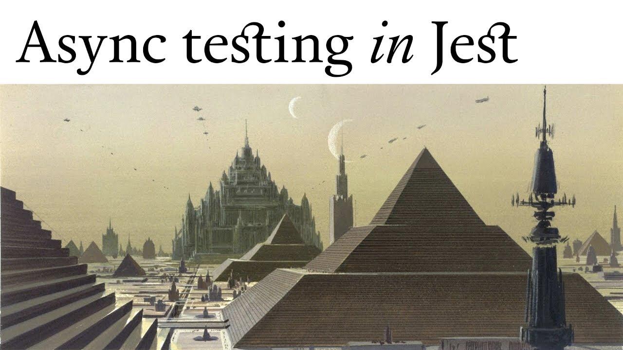 Async testing in Jest – Robin Pokorny at React Native meetup Berlin