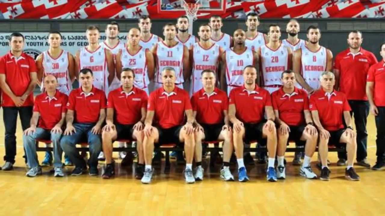Georgian National Basketball Team - YouTube