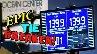 Tie Breaker BASS RACING w/ Timmy Son & Nemesis Derrick | SBN 2013 DB Drag Car Audio Competition