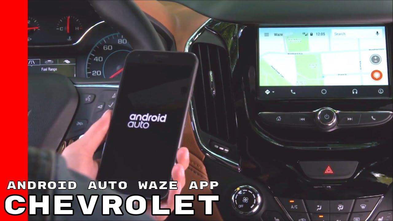 chevrolet cruze android auto waze app youtube. Black Bedroom Furniture Sets. Home Design Ideas