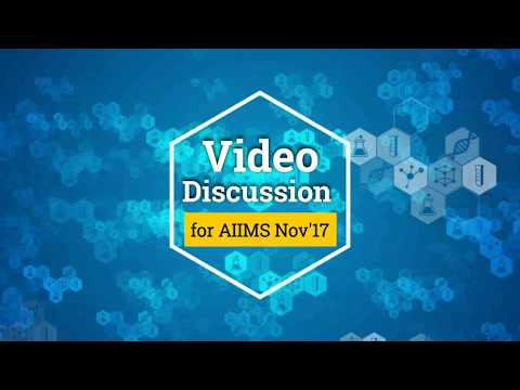 AIIMS Nov 17 Video Discussion on Forensic Medicine