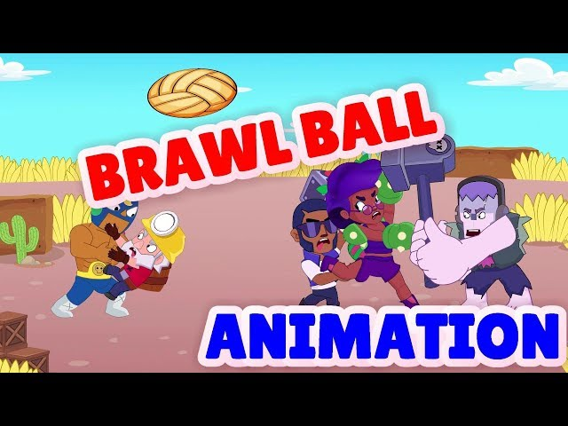 Brawl Stars Animation   Sakura Spike in Brawl Ball mode