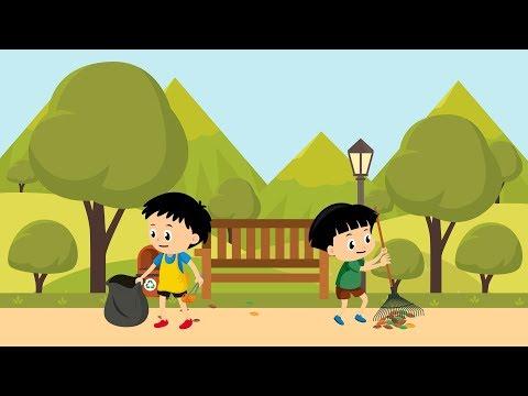 [Video Edukasi Anak] Pembelajaran Kelas 1 SD : Menjaga Kebersihan Lingkungan
