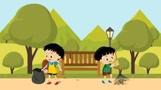 Hai adik-adik, sekarang waktunya belajar tentang menjaga kebersihan lingkungan kalian harus tahu bagaimana cara . yuk k...