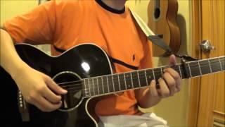 My interpretation of sara bareilles' beautiful song, gravity, on acoustic guitar.