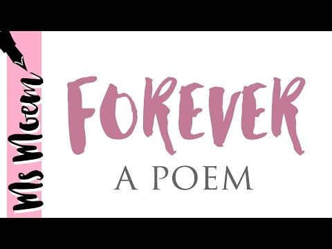 Forever - wedding poem