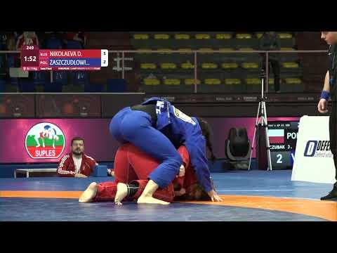 1/2 Women's GP GI - +71 kg: D. NIKOLAEVA (RUS) v. M. ZASZCZUDLOWI (POL)