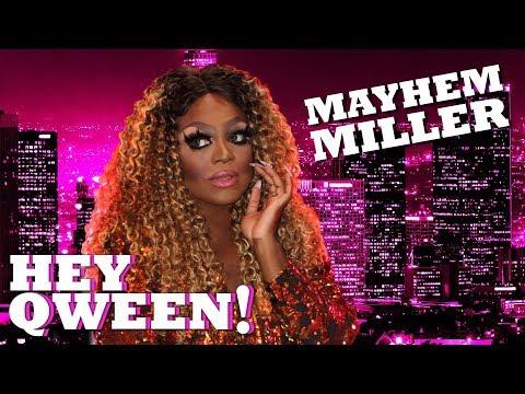 MAYHEM MILLER on Hey Qween! with Jonny McGovern