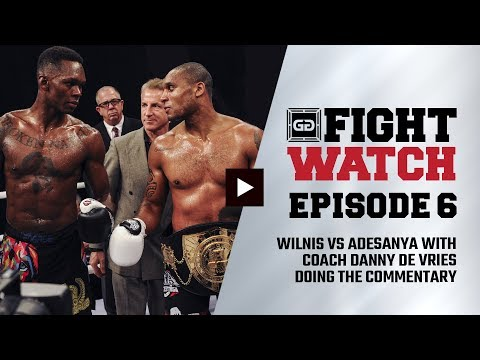 Israel Adesanya vs. Jason Wilnis (GLORY 37) | Fight Watch
