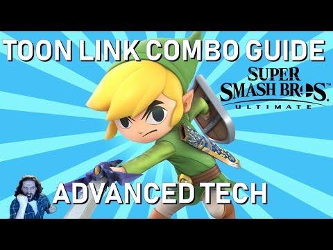 Toon Link Smash Ultimate | Toon Link Combos | How To Play Super Smash Bros Ultimate Advanced Guide