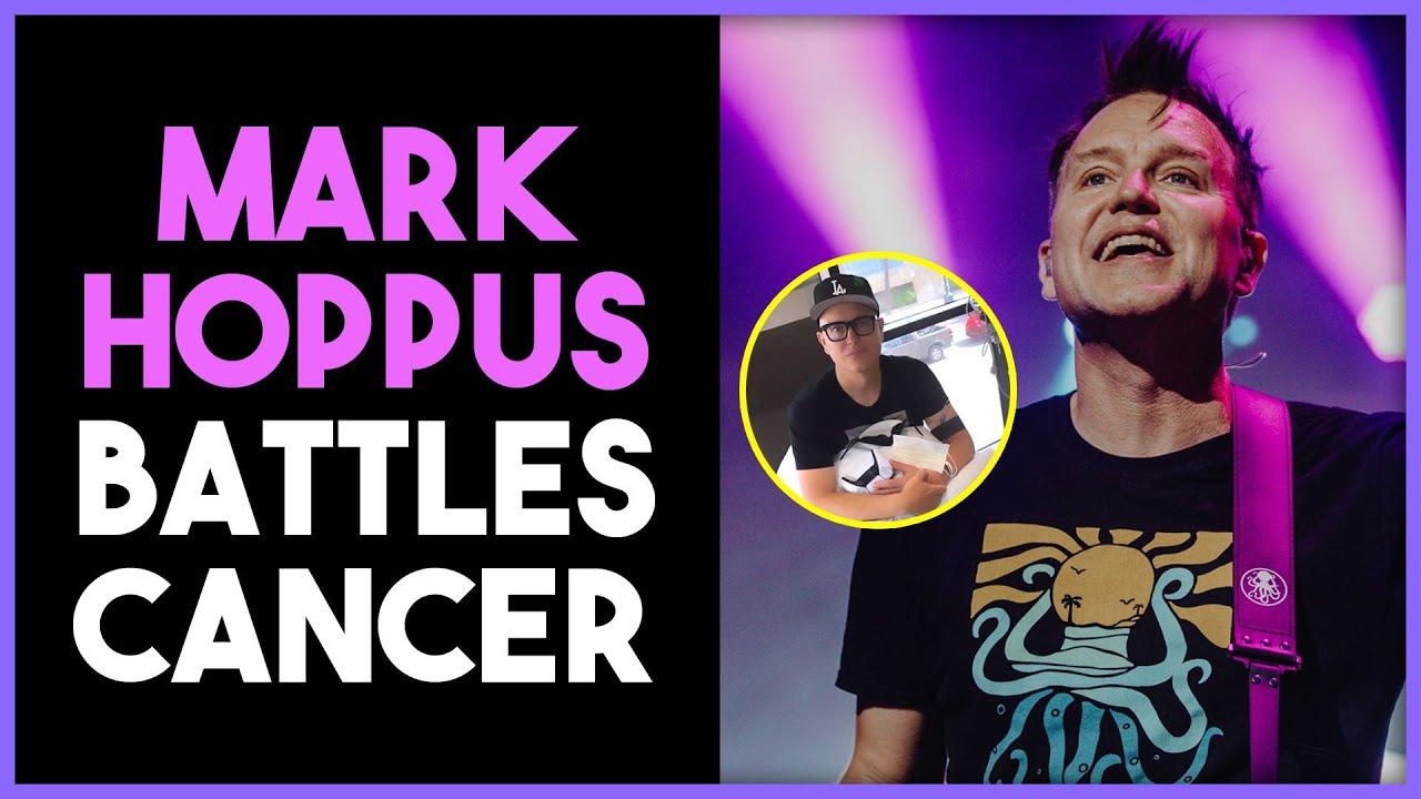 Mark Hoppus reveals cancer diagnosis
