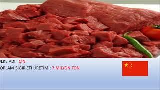 Dünyada En Fazla Sığır Eti Üreten 5 Ülke