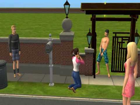 Shot gun rifle in Sims 2