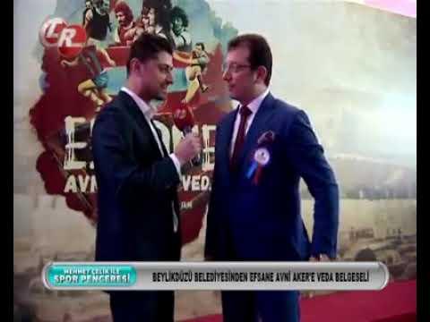 Efsane Avni Aker'e Veda Belgeseli Gala Gecesinde Belediye Başkanı Ekrem İmamoğlu