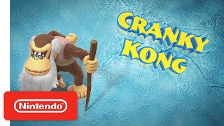 Donkey Kong Country Tropical Freeze – Meet the Kongs: Cranky Kong – Nintendo Switch