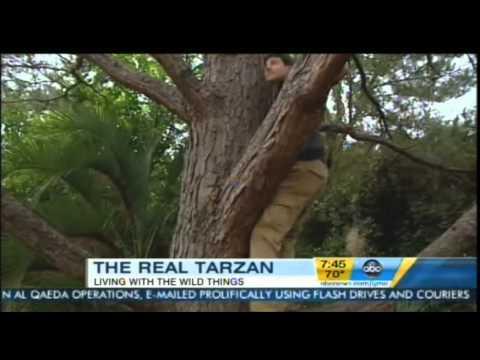 Good Morning America – The Real Life Tarzan Kody Antle