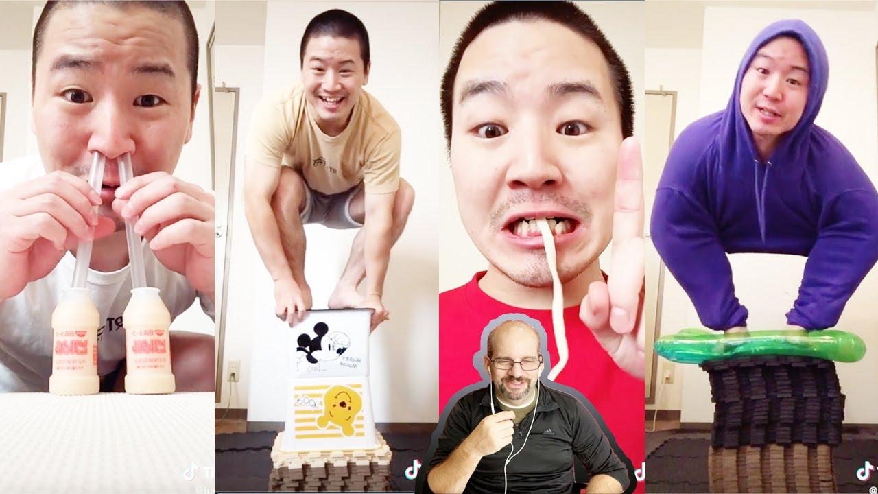 Reaction to the King of Tiktok Comedy Junya 1 gou   @Junya.じゅんや Funny Tiktok Videos