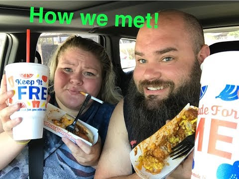 SONIC Mukbang (Q&A how Tammy and Darryl met)