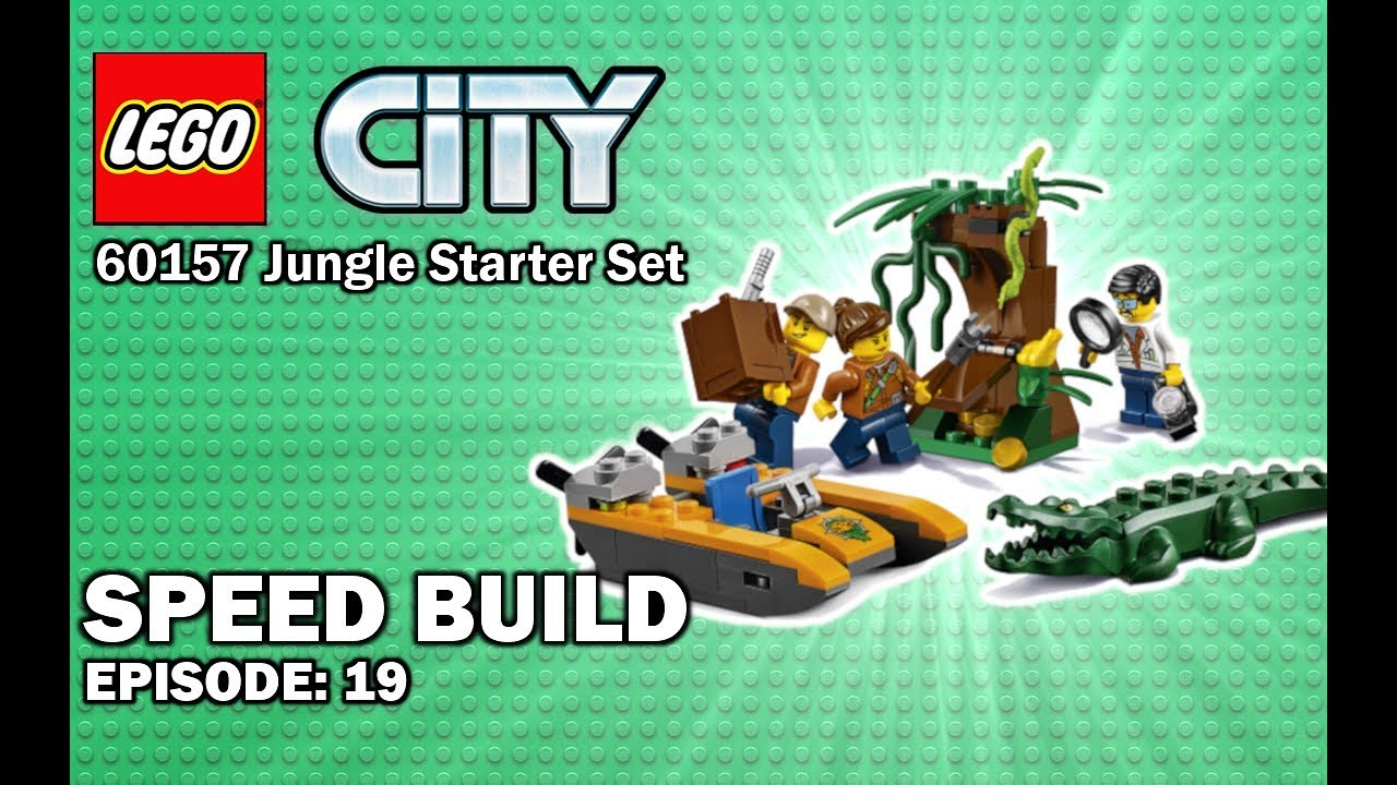 Lego City Jungle 60157 Jungle Starter Set Speed Build 19 Youtube