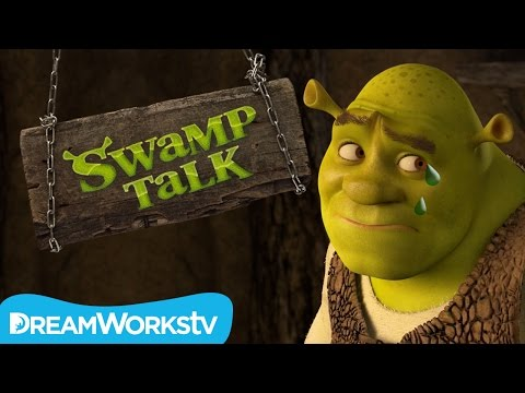 Trolls Write Mean Comments | SWAMP TALK WITH SHREK AND DONKEY on Go90