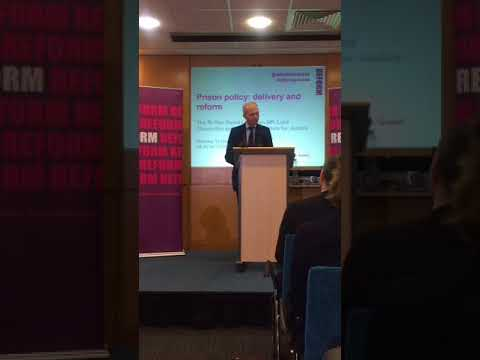 Prison policy: delivery and reform: speech by David Lidington MP