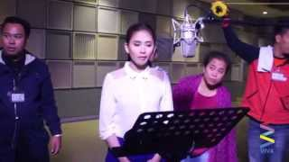 Sarah Geronimo Never-Before-Seen Recording for Felix Manalo Theme Song [EXCLUSIVE]
