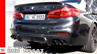 BMW M550i By AC Schnitzer Exhaust Sound, Launch Control, Acceleration