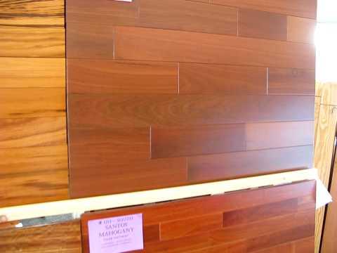 Massaranduba hardwood flooring, Brazilian redwood flooring from Uncle Hilde's