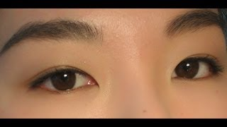 初学者的基本眼线(适合单眼皮和内双女生)Basic eyeliner for mono lids