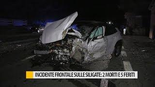 Incidente frontale sulle siligate: 2 morti e 5 feriti thumbnail