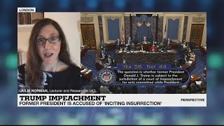 Donald Trump impeachment trial: 'A conviction is very unlikely'
