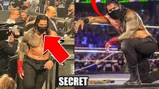 Roman Reigns mask Secret ! Demon king vs Roman Reigns