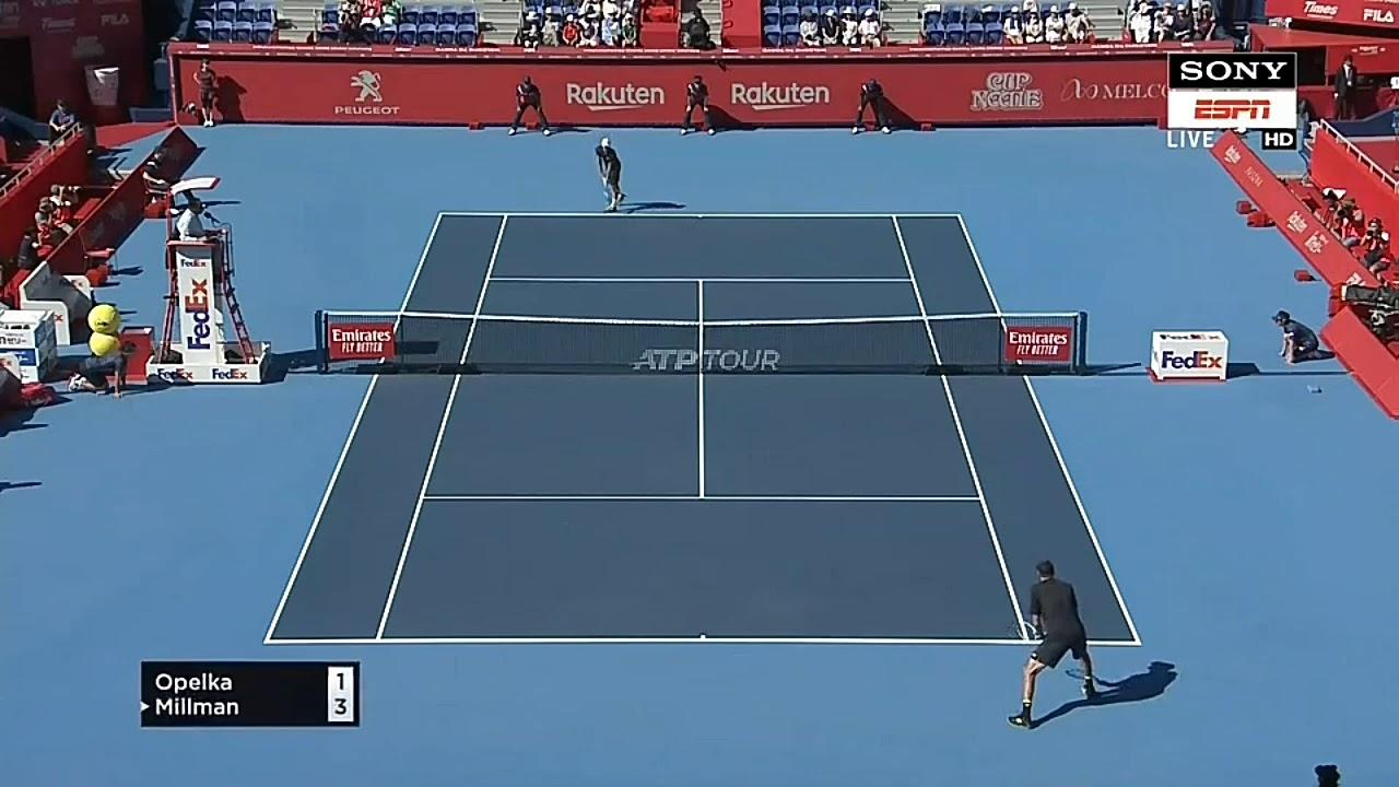 Tennis match 2019