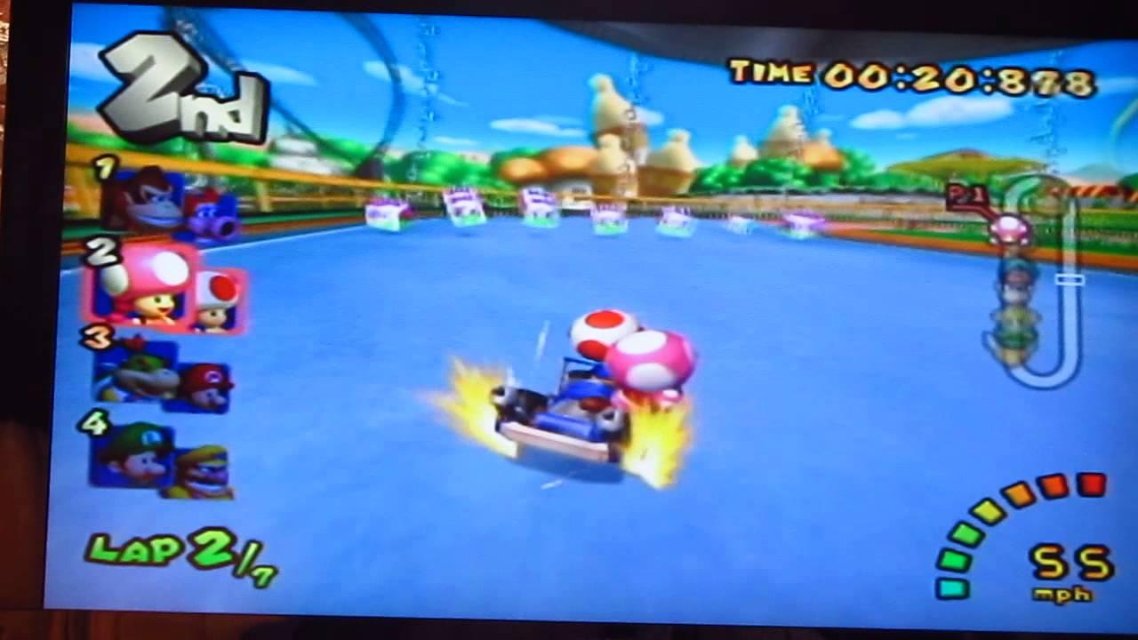 Mario kart double dash - Toad & Toadette 150cc mushroom ... - photo#22