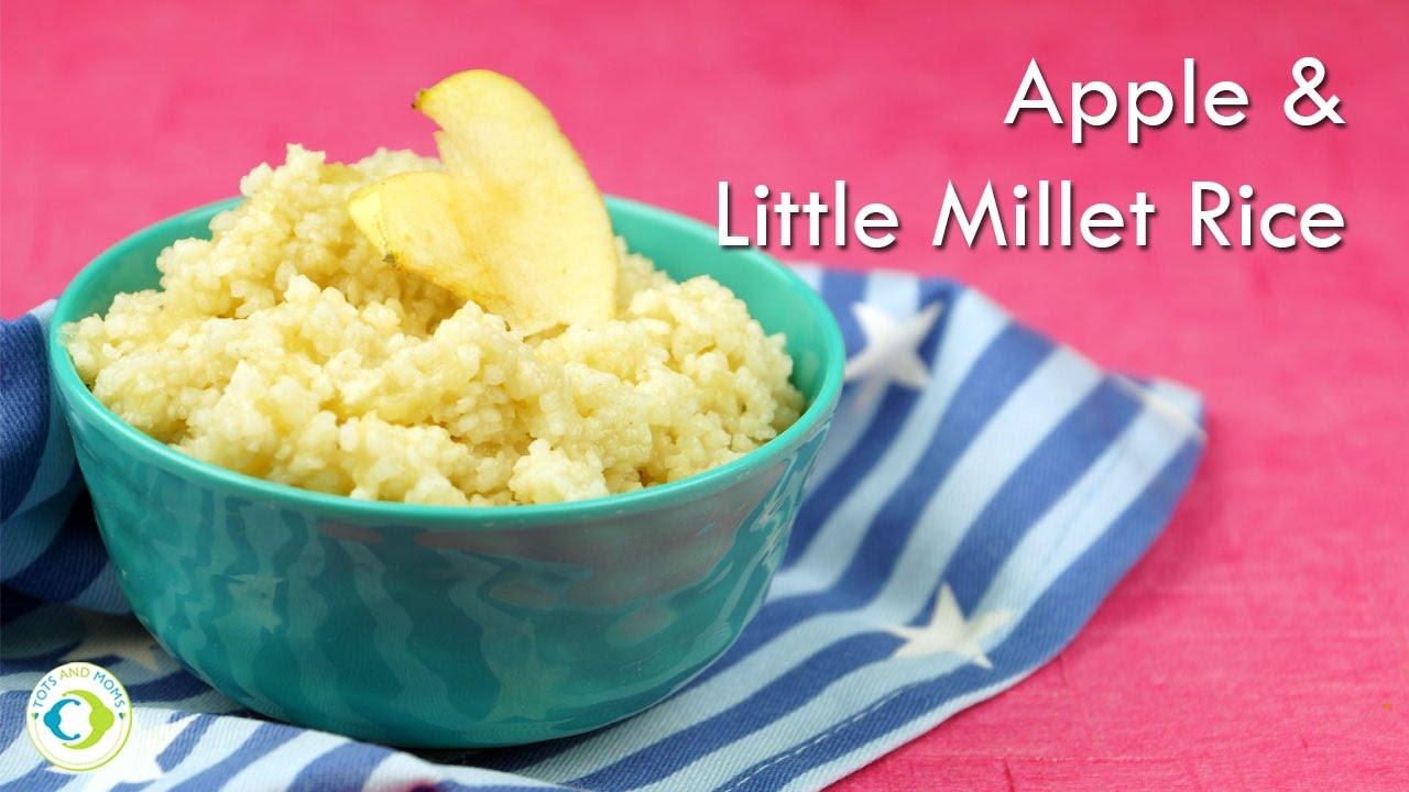 Making Millet Baby Food